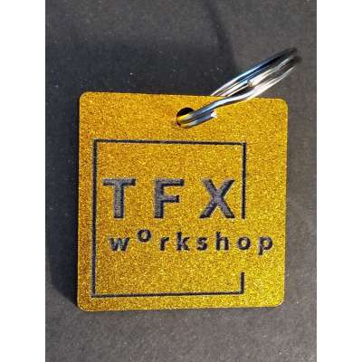 "Брелок акриловий ""TFX workshop"""